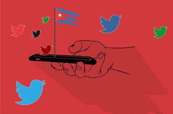 Gobierno cubano en Twitter