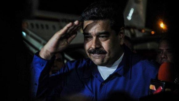 Presidente Maduro arriba a Cuba para participar en Cumbre ALBA-TCP
