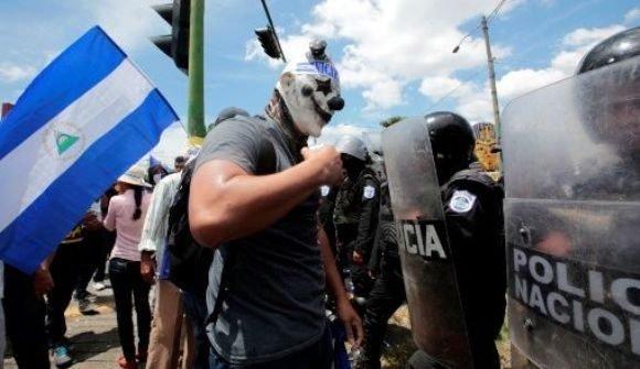 Las protestas opositoras cuestan más de 1300 millones de dólares a Nicaragua