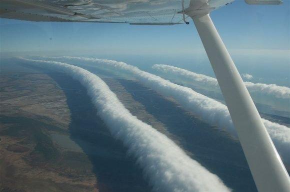 """¿Qué se sabe de las extrañas nubes """"Morning Glory""""?"""