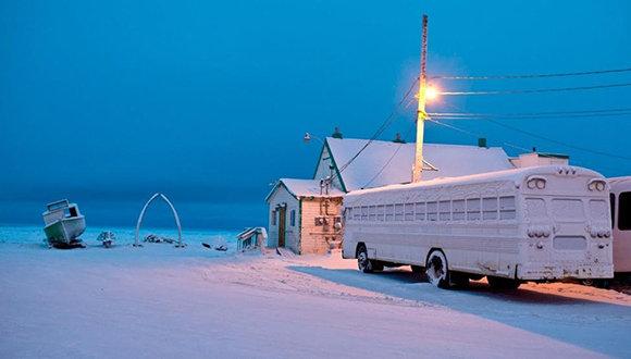 Noche polar en Alaska: 65 jornadas en penumbras