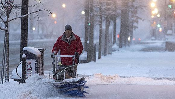 """Alerta en EEUU por tormenta de invierno """"Harper"""""""