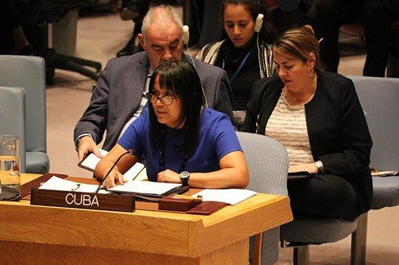 Anayansi Rodríguez: Reiteramos nuestro absoluto respaldo a la Revolución Bolivariana y chavista