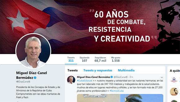 Díaz-Canel felicita a científicos cubanos en su día