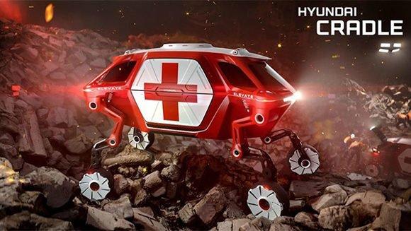 Elevate, un vehículo concebido para salvar vidas tras un desastre natural (+ Fotos)