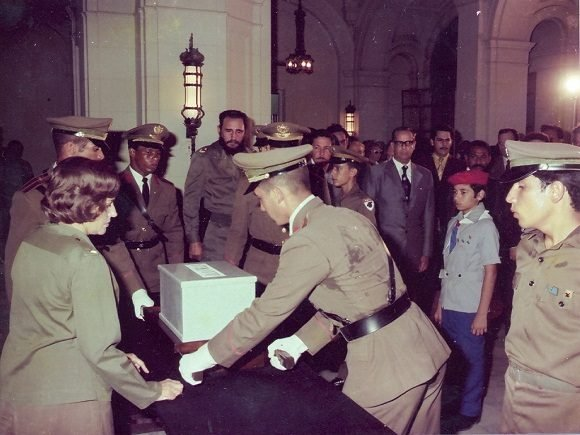Fidel: Mella es bandera alentadora, ejemplar e invencible de la Revolución