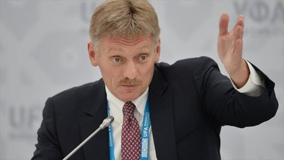 El portavoz del Kremlin, Dmitri Peskov. Foto: Hispantv.