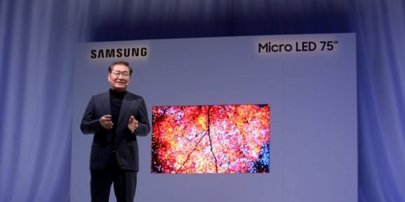 El televisor modular MicroLED se renueva — Samsung The Wall