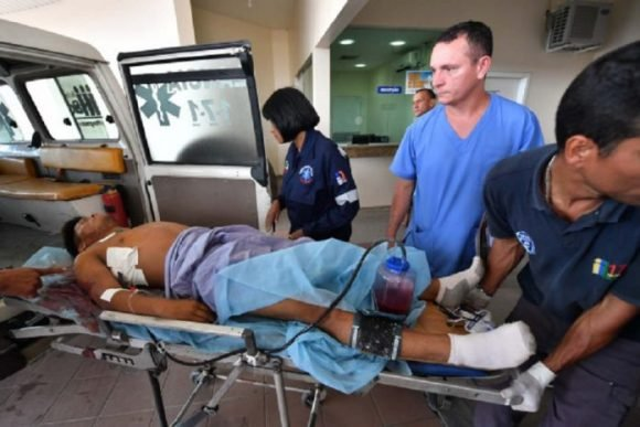 Supuestos indígenas que resultaron heridos fueron atendidos en Brasil. Foto: La Patilla