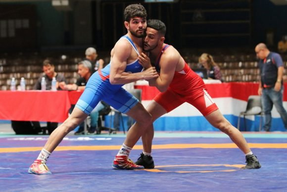 Cuba wins six gold medals in wrestling tournament