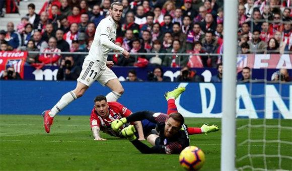 El Real Madrid se impone en el derbi madrileño y es segundo de LaLiga