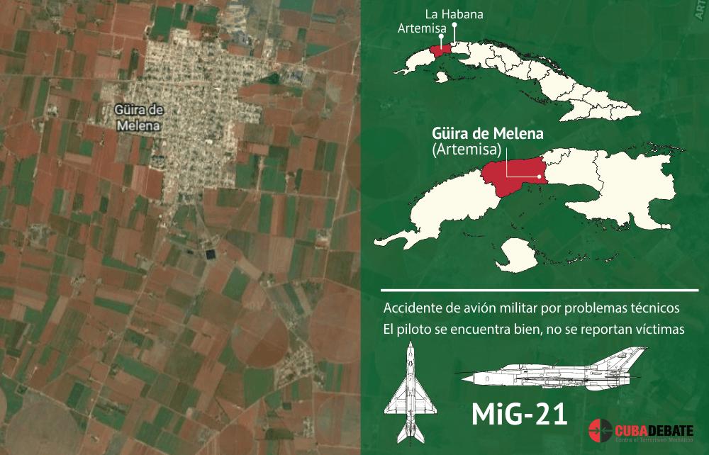Informa sobre accidente aéreo en Cuba Ministerio de las Fuerzas Armadas