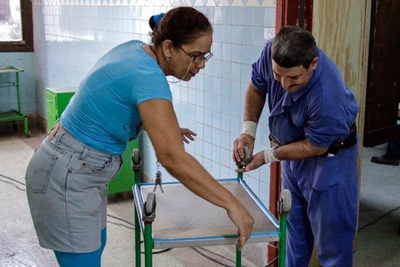 Reparación del hospital habanero Hijas de Galicia, una obra de amor  (+ Fotos)