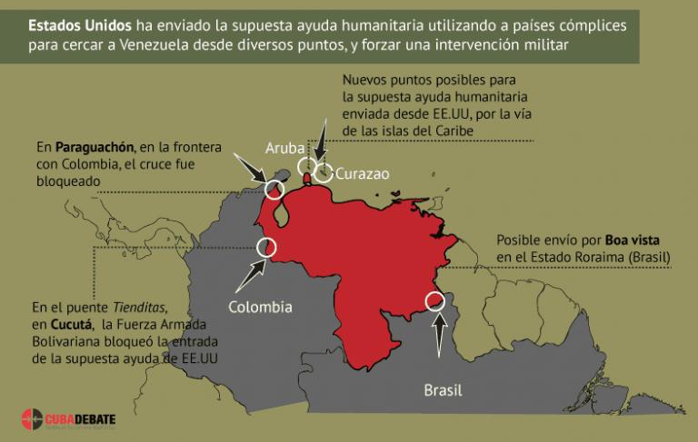 Venezuela enfrenta nueva ofensiva de Estados Unidos