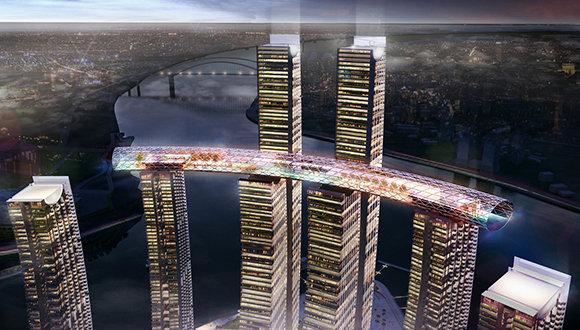 The Crystal, el rascacielos horizontal chino que deja con la boca abierta