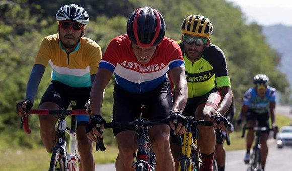 Se corre la etapa más larga del Clásico cubano de Ciclismo de Ruta