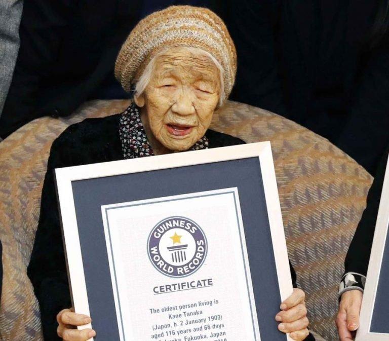 Japonesa de 116 años es la persona más longeva del planeta