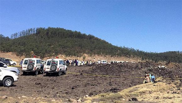 Sin sobrevivientes avión siniestrado en Etiopía