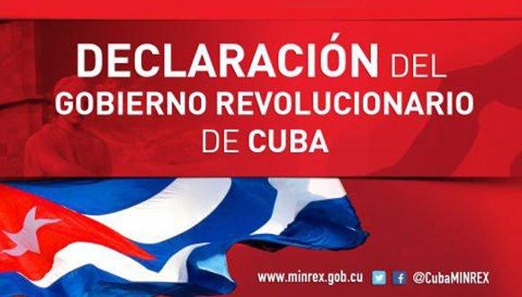 La Revolución Cubana prevalecerá firme ante la escalada agresiva de los Estados Unidos