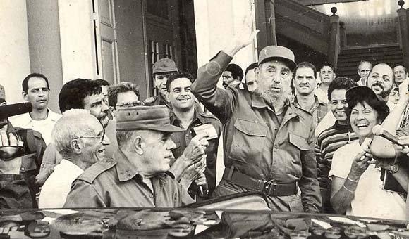 Fidel: El hombre que cumple el deber, lo cumple por amor hacia su causa (+ Foto y Video)