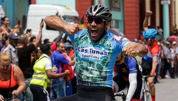 Gana tunero Arias primera etapa del Clásico cubano de Ciclismo de Ruta 2019