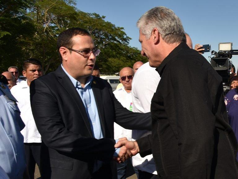 Cuba a favor de unidad del Caribe, ratifica Díaz-Canel en Nicaragua (+Fotos)