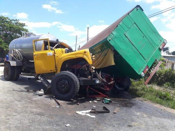 Accidente vehicular en carretera de San Juan y Martínez con múltiples lesionados