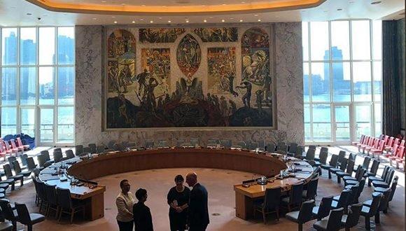Cortinas del Consejo de Seguridad abiertas por vez primera desde atentado al Che