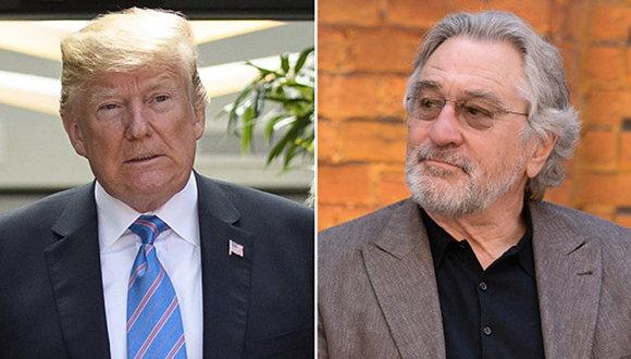 "Robert De Niro: ""Trump es un aprendiz de mafioso"""
