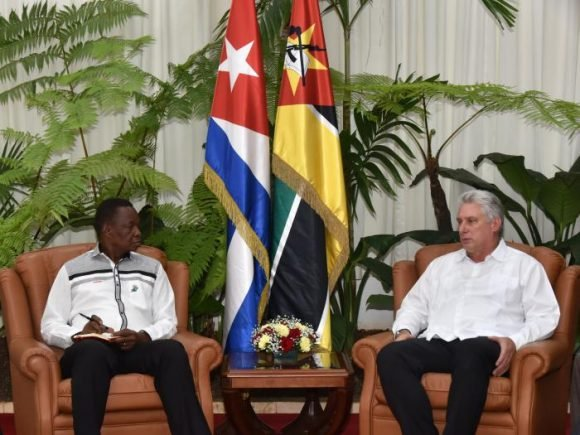 Diaz-Canel receives Secretary General of the Front for the Liberation of Mozambique