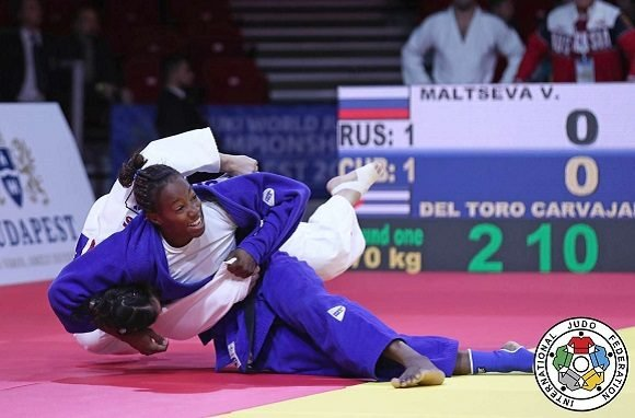 Cuba earns four bronze medals in the Budapest Judo Grand Prix