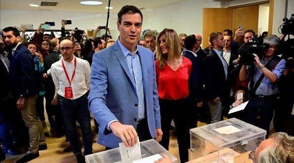 PSOE mantiene clara ventaja en las elecciones españolas con 26,25 % escrutado
