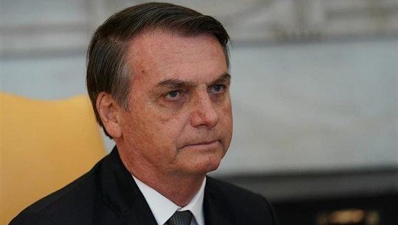 Bolsonaro cancela viaje a EU donde recibiría homenaje