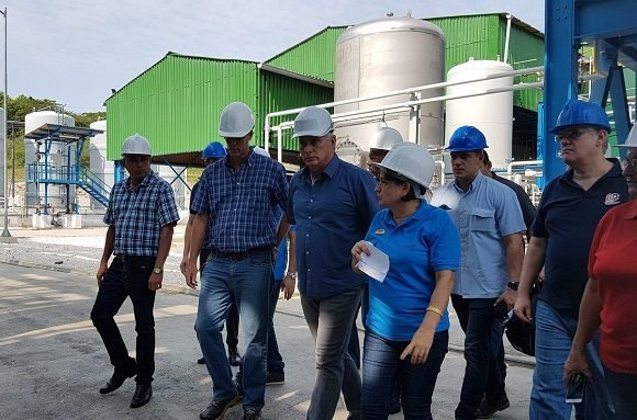 Presidente cubano encabeza visita de Gobierno a Villa Clara