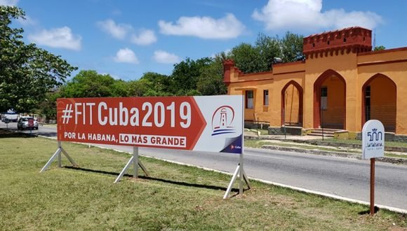 Cuba reached two million international tourists today