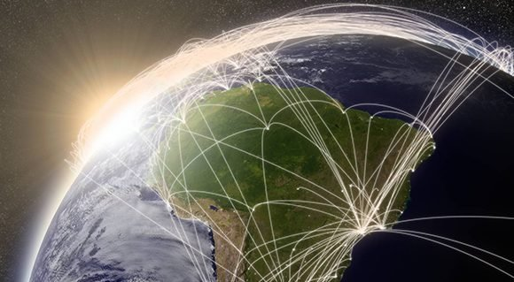 Latinoamérica, paradojas en red