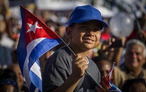 Primero de Mayo en La Habana, Cuba 2019. Foto: Irene Pérez/ Cubadebate.