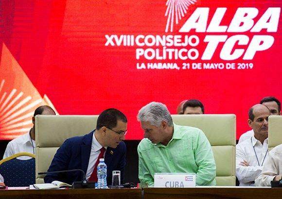 Asiste Díaz-Canel a clausura del Consejo Político del ALBA-TCP (+ Video)
