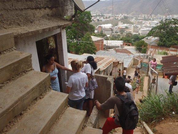 Misión Barrio Adentro en La Yaguara, Venezuela. Foto: La Red.