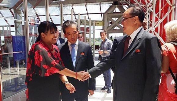 Vicepresidente de República Popular Democrática de Corea se encuentra en Cuba