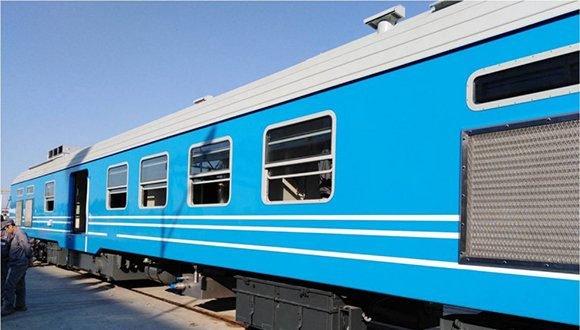 Ferrocarriles de Cuba realizará pruebas con nuevos coches de pasajeros