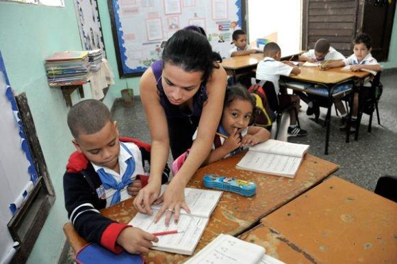 Educación en Cuba. Foto: Cubahora.