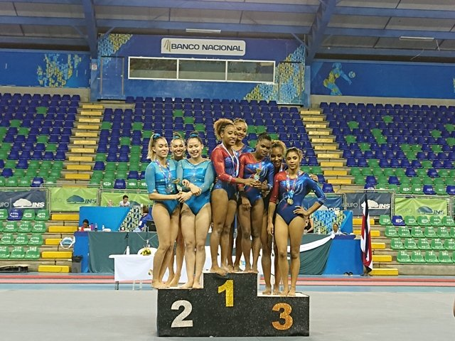Gimnastas cubanos reinan en Copa Internacional de Costa Rica