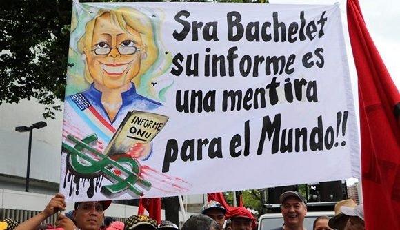 Organizaciones de derechos humanos en latinoamerica rechazan informe Bachelet sobre Venezuela