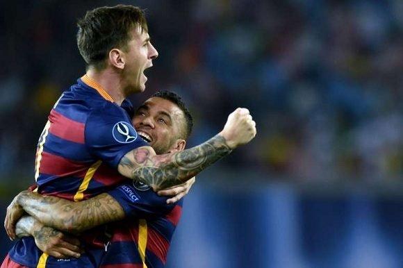 Dani Alves envía mensaje a Lionel Messi por la derrota ante Brasil