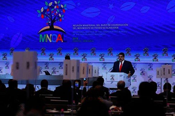 Reunión ministerial del MNOAL concluye en Venezuela