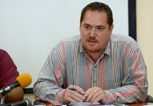 Ernesto Vallín Martínez, Director de la industria informática. Foto: Ariel Ley Royero. ACN.
