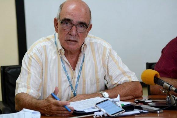 Wilfredo López Rodríguez, Director de regulaciones del Ministerio de Comunicaciones. Foto: Ariel Ley Royero. ACN.