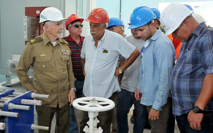 En fase de puesta en marcha Planta de Cloro Sosa en el centro de Cuba