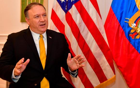 Confía Pompeo en que Assange sea extraditado a EE.UU.